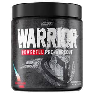 Nutrex Research Warrior Powerful Pre Workout | High Stim Preworkout Supplement with 400mg Caffeine, for $20