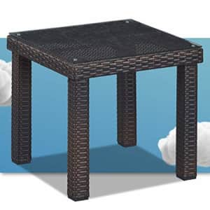 Serta Tahoe Brown Resin Wicker Outdoor Patio Furniture Collection Porch or Pool, Garden, for $267