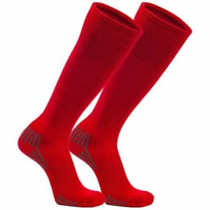 Franklin Sports Youth Baseball and Softball Socks, Red, Small for $19