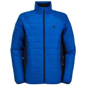 Spyder Men's Glissade Insulator Jacket for $51