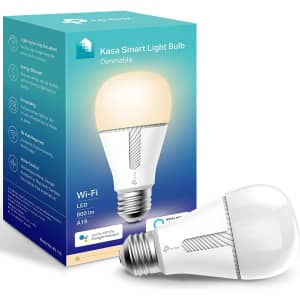 TP-Link Kasa Dimmable Smart Light Bulb for $12