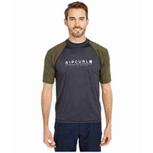 Rip Curl Shockwave Relaxed FIT Short Sleeve Rash Guard for $21