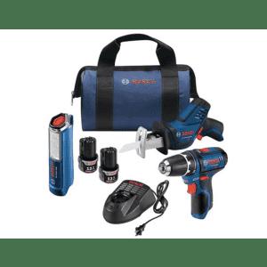 Bosch 12V Max 3-Tool Combo Kit for $149