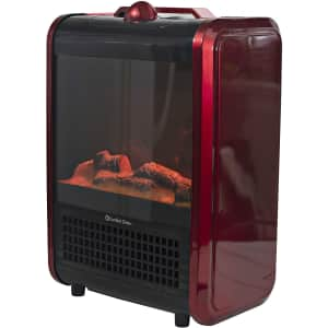 Comfort Zone Portable Fireplace Heater for $39