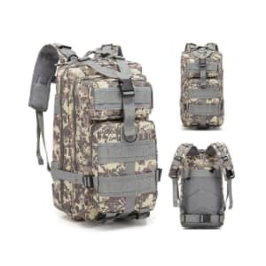 25-Liter Military Tactic Backpack for $17