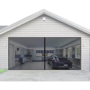 Aurelio Tech 16x7-Foot Magnetic Garage Door Screen for $52