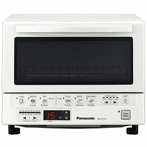 Panasonic FlashXpress Compact Toaster Oven with Double Infrared Heating, Crumb Tray and 1300 Watts for $152