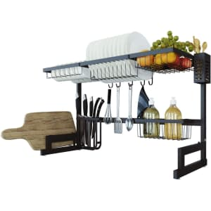 Toolkiss Over The Sink Dish Drying Rack for $68