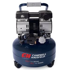 Campbell Hausfeld 6 Gallon Portable Quiet Air Compressor (DC060500) for $325