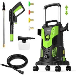 Paxcess 3,000PSI Electric High Pressure Power Washer for $186
