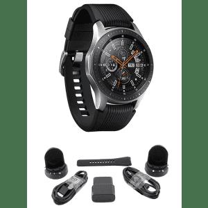 Samsung Galaxy 46mm Bluetooth Watch for $279