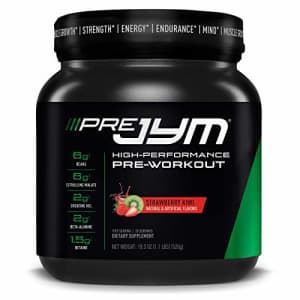 Pre JYM Pre Workout Powder - BCAAs, Creatine HCI, Citrulline Malate, Beta-Alanine, Betaine, and for $50