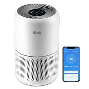 LEVOIT Air Purifier for Home Bedroom, H13 True HEPA Filter for Dust, Allergies, Pets, Smoke, Smart for $150