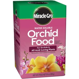 Miracle-Gro Water Soluble Orchid Food 8-oz. Box for $5