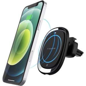 Rampow 15W Magnetic Wireless Car Charger Mount for $28