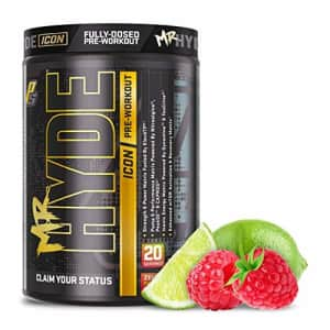 ProSupps Mr. Hyde Icon, Intense High Powered Energy, Focus & Pump, Premium Pre-Workout Powder, (20 for $40