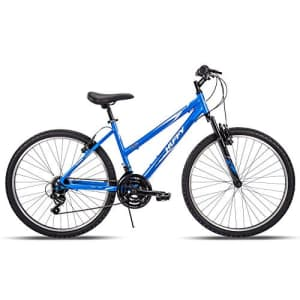 Huffy Hardtail Mountain Trail Bike 24 inch, 26 inch, 27.5 inch, 26 Inch Wheels/17 Inch Frame, Ocean for $460