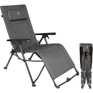 Ever Advanced Outdoor Reclining Zero Gravity Chair for $70