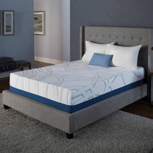 "Serta SleepToGo 12"" Gel Memory Foam Luxury Queen Mattress for $419 for members"