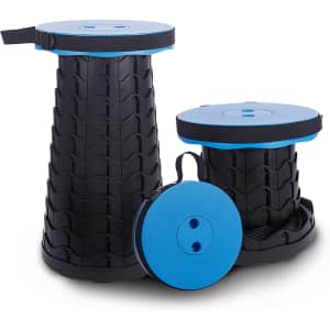 WTJMOV Collapsible Telescopic Stool for $19