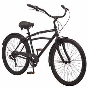 Schwinn Huron Adult Beach Cruiser Bike, Featuring 17-Inch/Medium Steel Step-Over Frames, 7-Speed for $505
