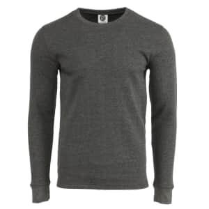 NHL Men's Waffle Long Sleeve Shirt for $7