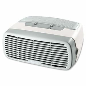 Holmes Desktop HEPA-Type Filter & Optional Ionizer, Air Purifier, White for $47
