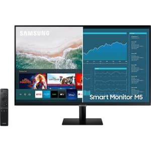 """Samsung M5 27"""" 1080p HDR LED Smart Monitor for $200"""