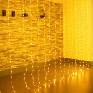 USB LED Icicle String Light for $17