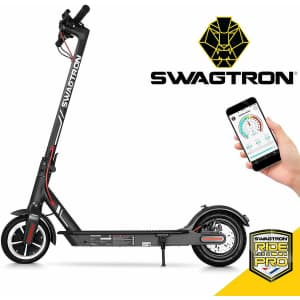 Swagtron Swagger 5 Foldable Electric Scooter for $187 in cart