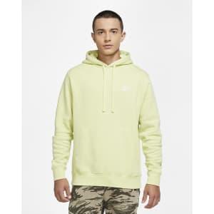 Nike Men's Sportswear Club Fleece Pullover Hoodie for $27