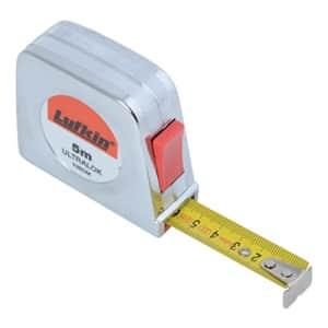 Lufkin Ultralok tape measure with chromed plastic housing, T0060403504 for $38