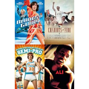FandangoNow Olympics Sale: SD Rentals for $3, HD for $4