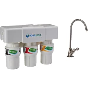 Aquasana 3-Stage Under Sink Water Filter System for $135