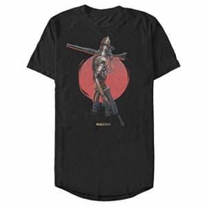 STAR WARS Men's T-Shirt, Black, XX-Large for $25