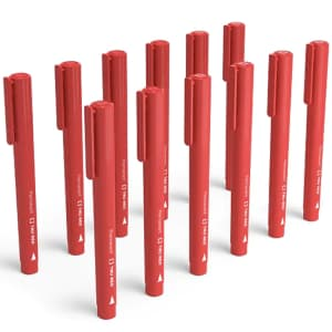TRU Red Pen Permanent Markers 12-Pack for $5