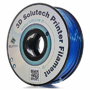 3D Solutech See Through Blue 3D Printer PLA Filament 1.75MM Filament 2.2 LBS 1.0 KG - 3DSPLA175STBLU for $20