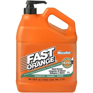 Permatex 1-Gallon Fast Orange Smooth Lotion Hand Cleaner with Pump for $14 via Sub & Save