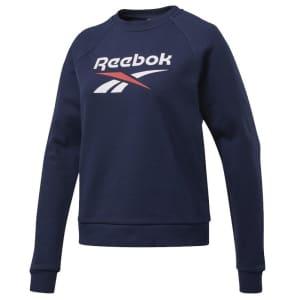 Reebok Women's Classics Big Vector Crew Sweatshirt for $15