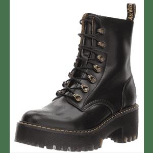 Dr. Martens Women's Leona 7 Hook Boots for $100