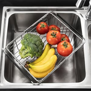Maxcook Expandable Dish Drying Rack for $27