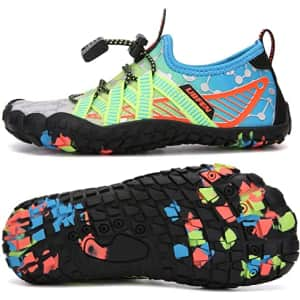 UBFEN Kids' Water Shoes for $15