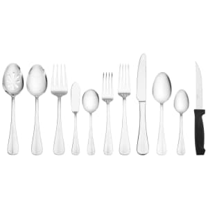 International Silver Simplicity 53-Piece Flatware Set for $33