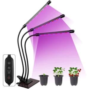 Aidyu 100W LED Grow Lamp for $12