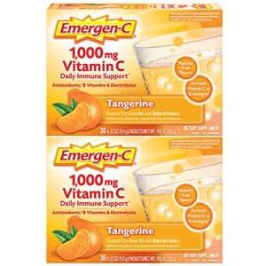 Emergen-C 1000mg Vitamin C Powder, with Antioxidants, B Vitamins and Electrolytes, Vitamin C for $18