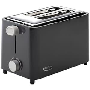 Betty Crocker RA28686 2-Slice Toaster (Black) for $19