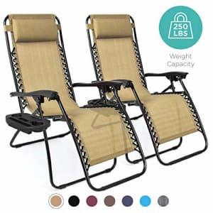 Best Choice 2-Pk. Zero Gravity Patio Chairs for $125