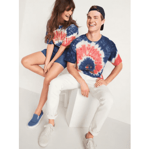 Tie-Dye Styles at Old Navy: Extra 25% off in cart