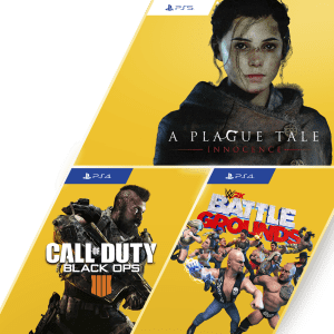 CoD: Black Ops 4, A Plague Tale, WWE 2K Battlegrounds: free w/ PS Plus