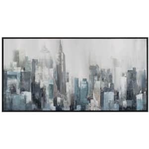 """Fine Art Canvas """"Domain"""" 24"""" x 48"""" Framed Canvas Wall Art for $39"""